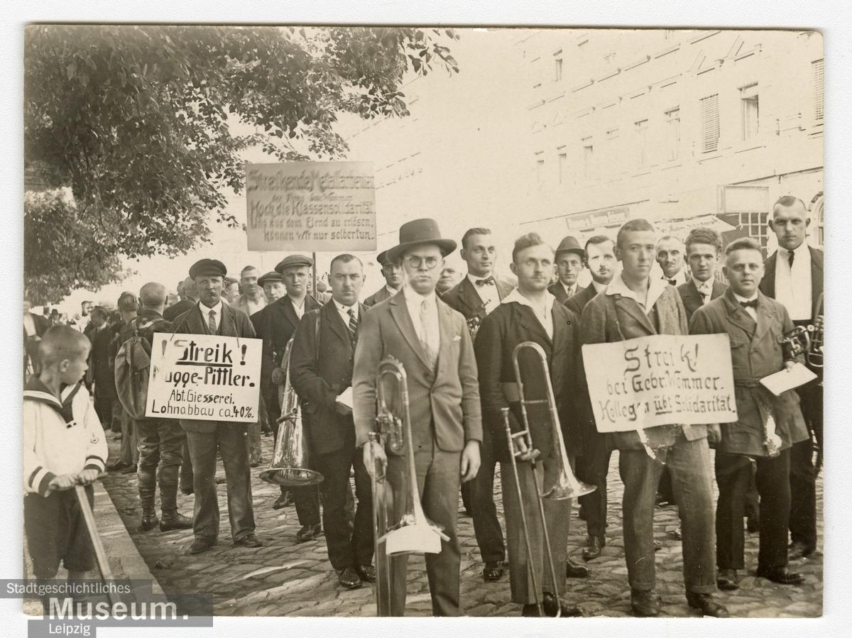 Metallarbeiterstreik um 1926